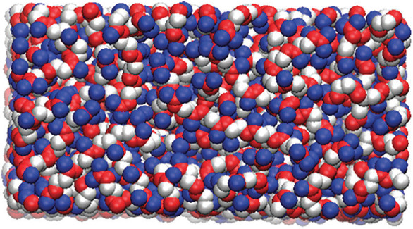MD simulation of squalene surface